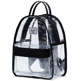 Herschel Nova Mini Sac à dos 9l, black/clear